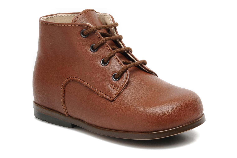 Boots en enkellaarsjes Little Mary Miloto Bruin detail