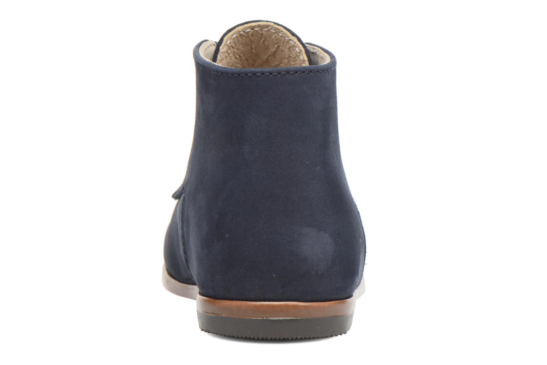 Bottines et boots Little Mary Miloto Bleu vue droite