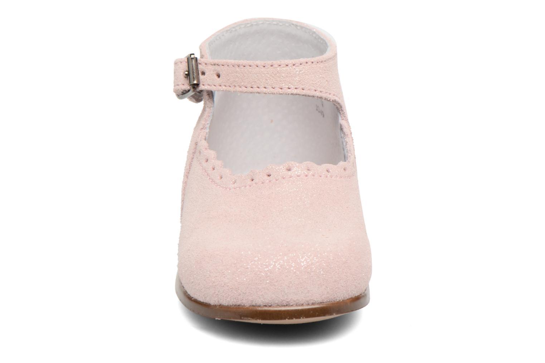 Ballerine Little Mary Vocalise Rosa modello indossato