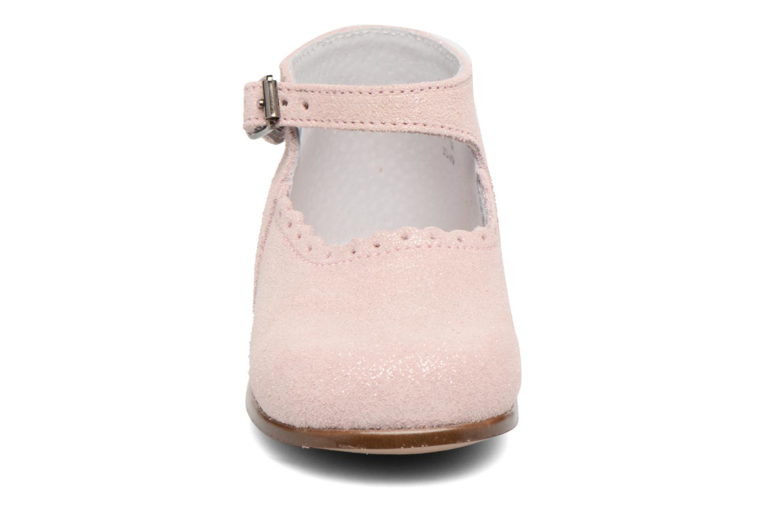 Ballerines Little Mary Vocalise Rose vue portées chaussures