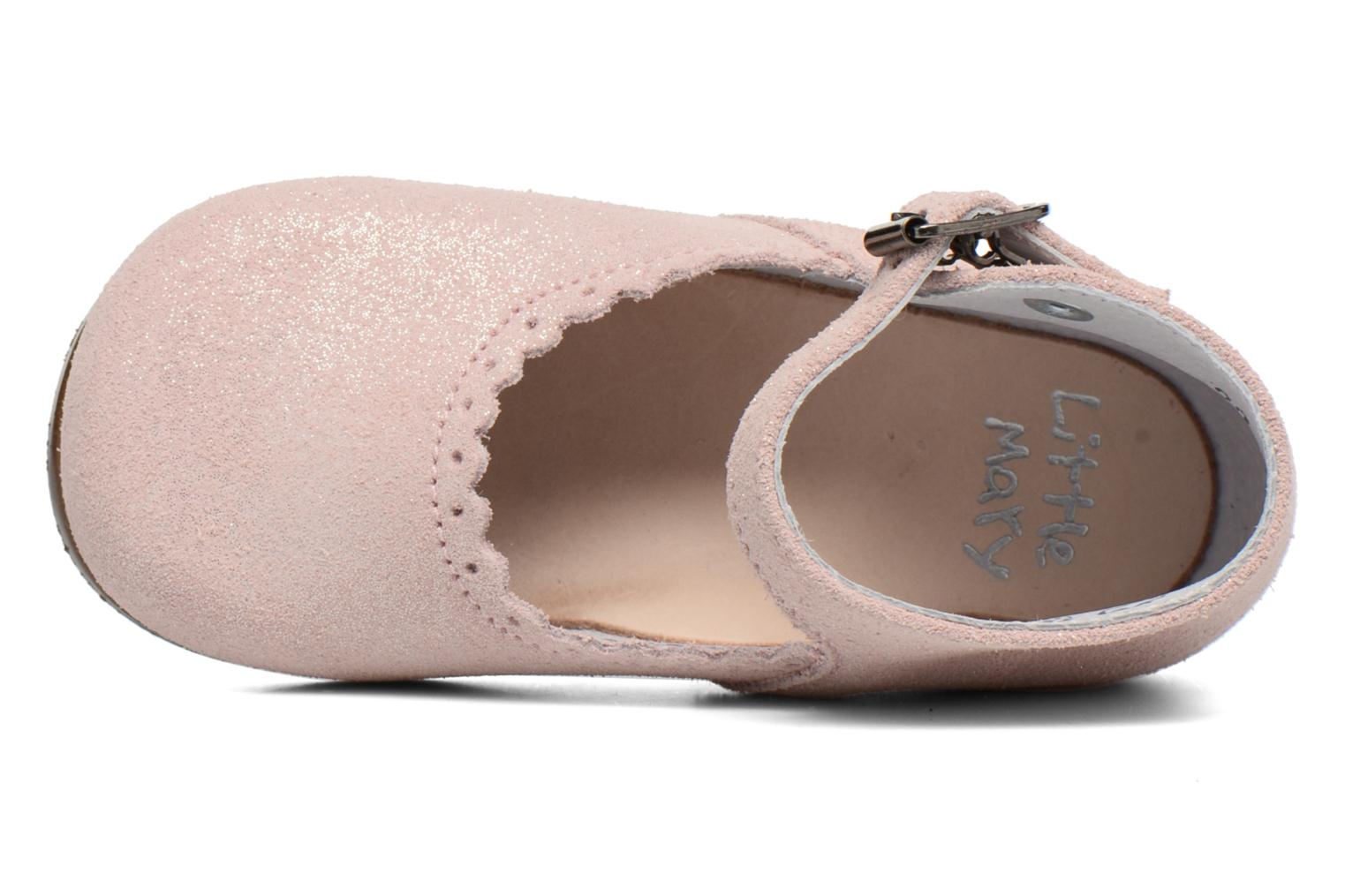 Ballerines Little Mary Vocalise Rose vue gauche