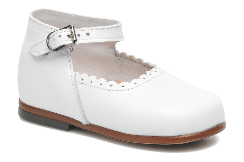 Bailarinas Little Mary Vocalise Blanco vista de detalle / par