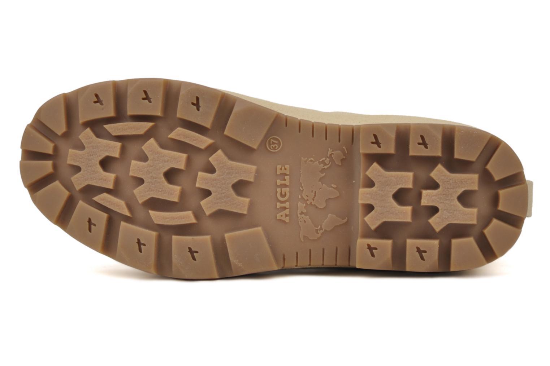 Sneakers Aigle Tenere 2 W Beige bild från ovan