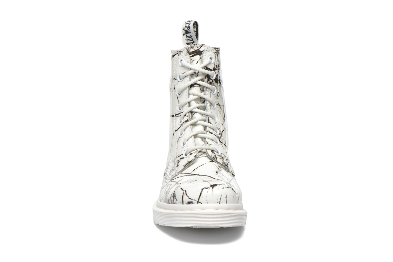 Bottines et boots Dr. Martens Pascal W Blanc vue portées chaussures