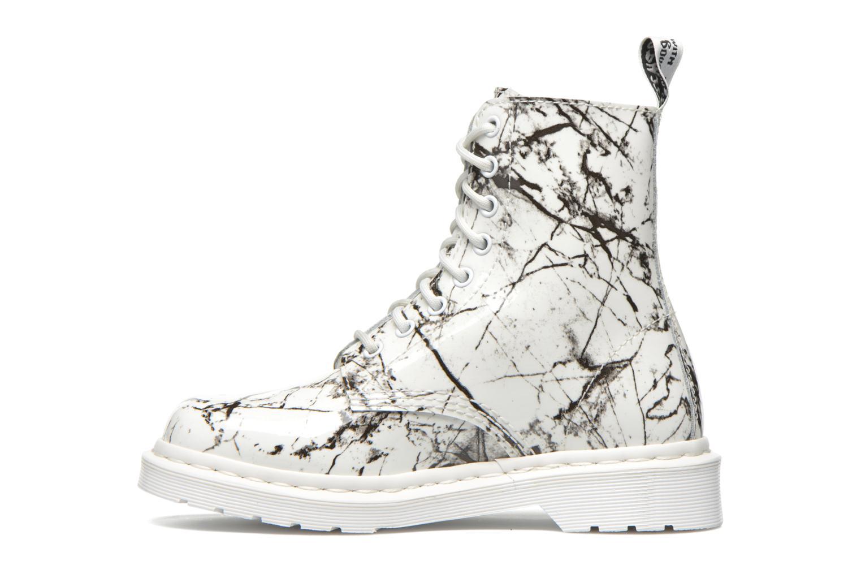 Bottines et boots Dr. Martens Pascal W Blanc vue face