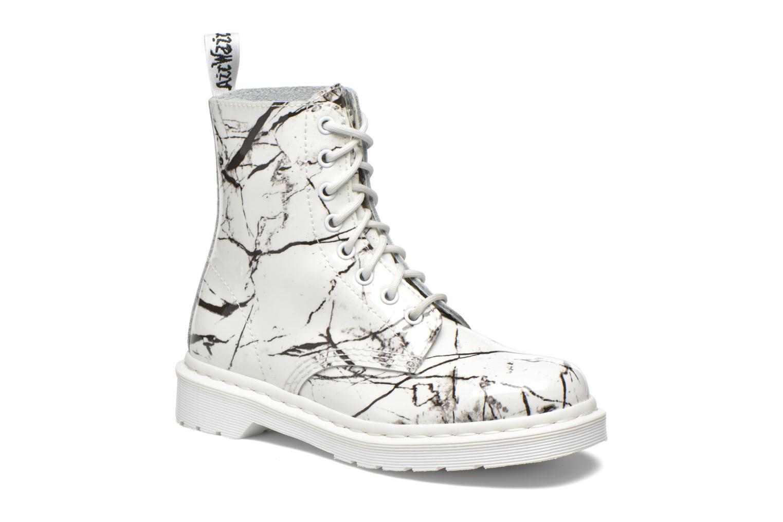Ankelstøvler Dr. Martens Pascal W Hvid detaljeret billede af skoene