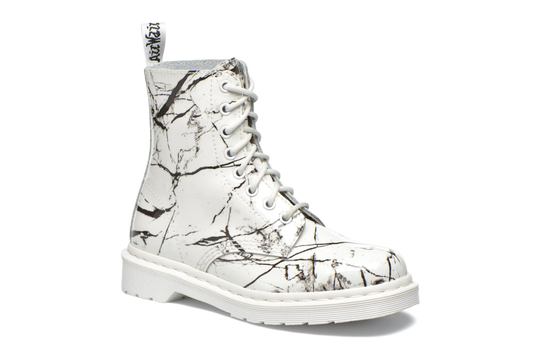 Stiefeletten & Boots Dr. Martens Pascal W weiß detaillierte ansicht/modell