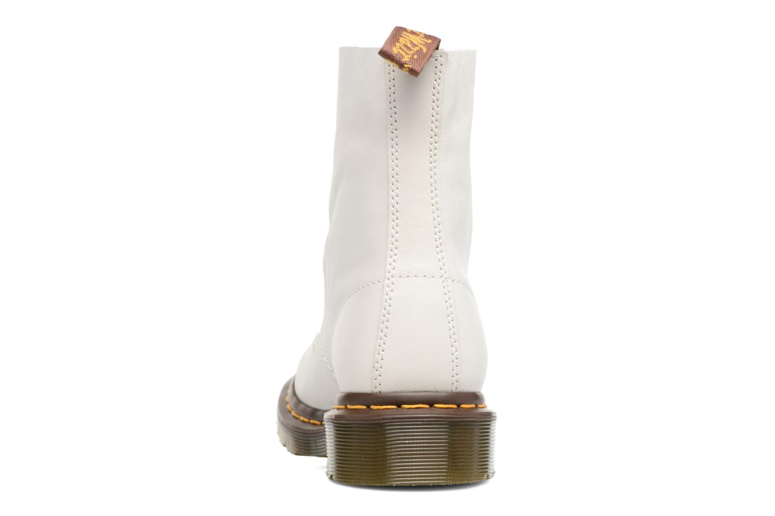 Ankle boots DR. Martens Pascal W White view from the right