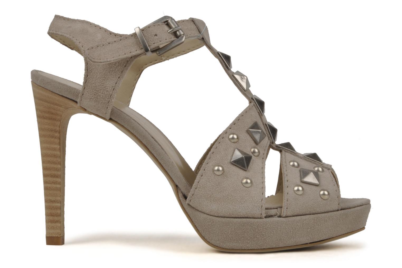 Sandales et nu-pieds Eden Oreade Beige vue derrière