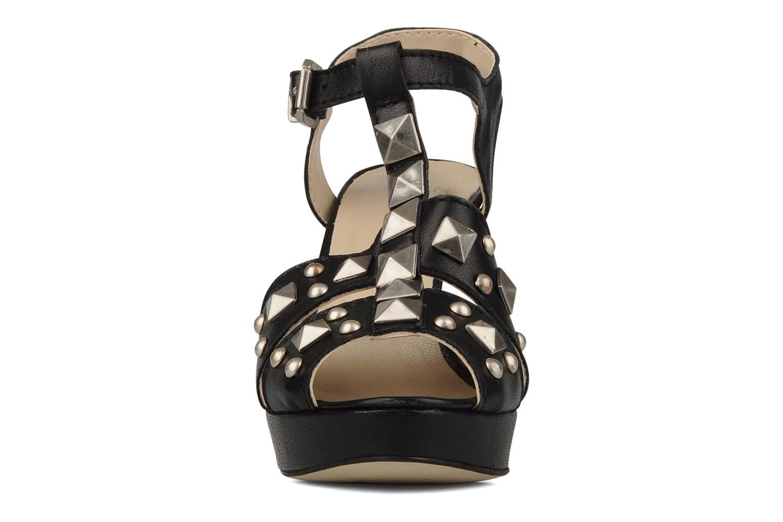 Sandales et nu-pieds Eden Oreade Noir vue portées chaussures