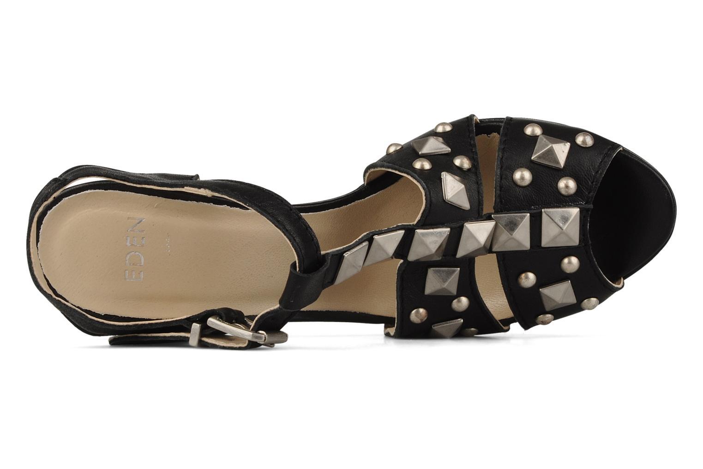 Sandales et nu-pieds Eden Oreade Noir vue gauche