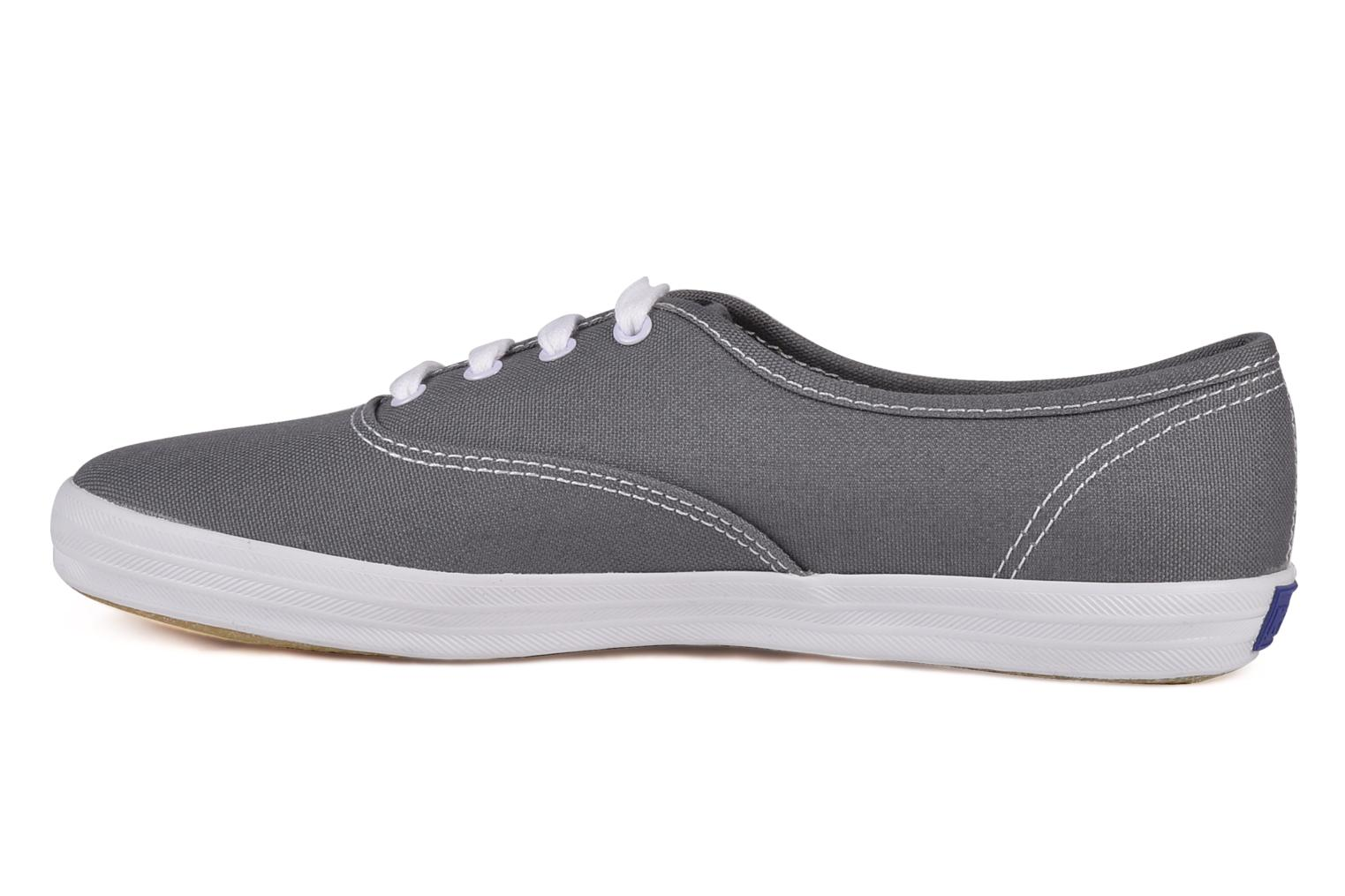 Trainers Keds Champion Canvas Grey front view