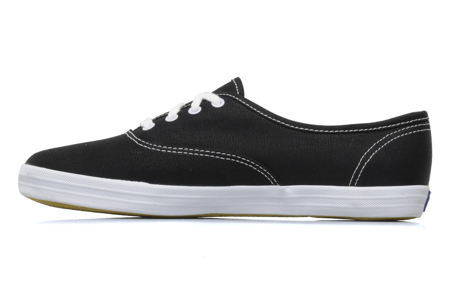 Trainers Keds Champion Canvas Black front view