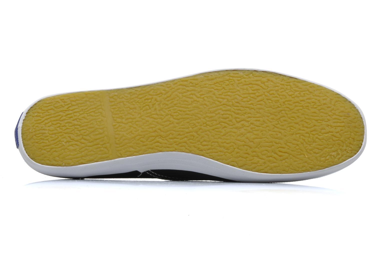 Sneakers Keds Champion Canvas Nero immagine dall'alto