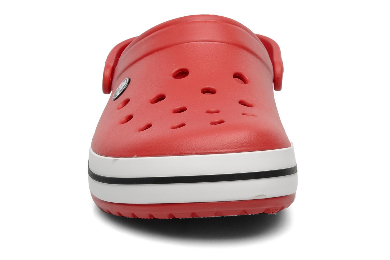 Sandales et nu-pieds Crocs Crocband M Rouge vue portées chaussures