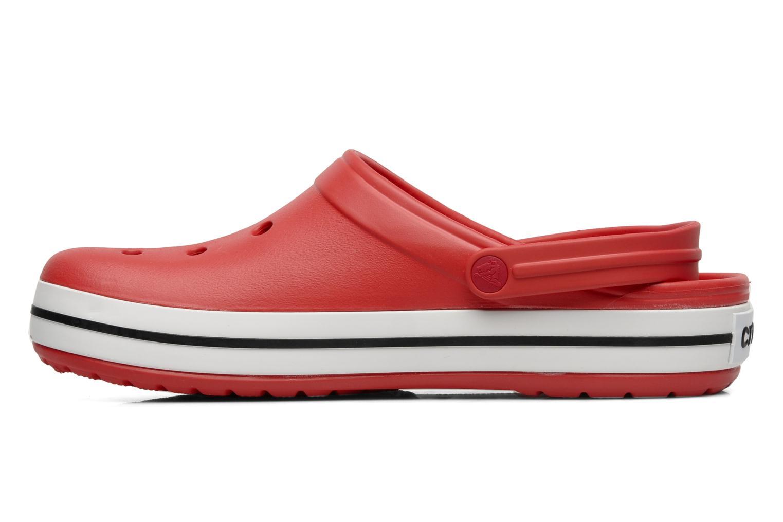 Sandales et nu-pieds Crocs Crocband M Rouge vue face