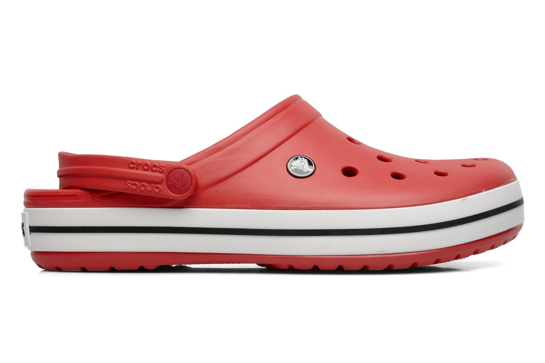 Sandales et nu-pieds Crocs Crocband M Rouge vue derrière