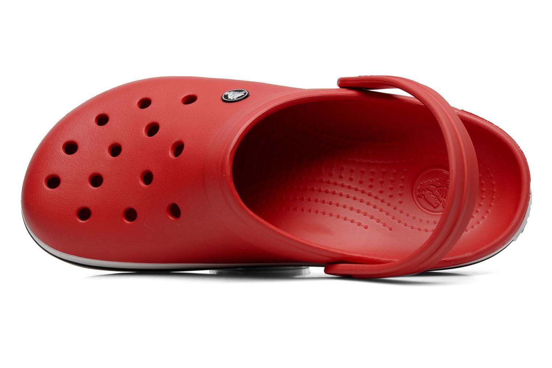 Sandales et nu-pieds Crocs Crocband M Rouge vue gauche