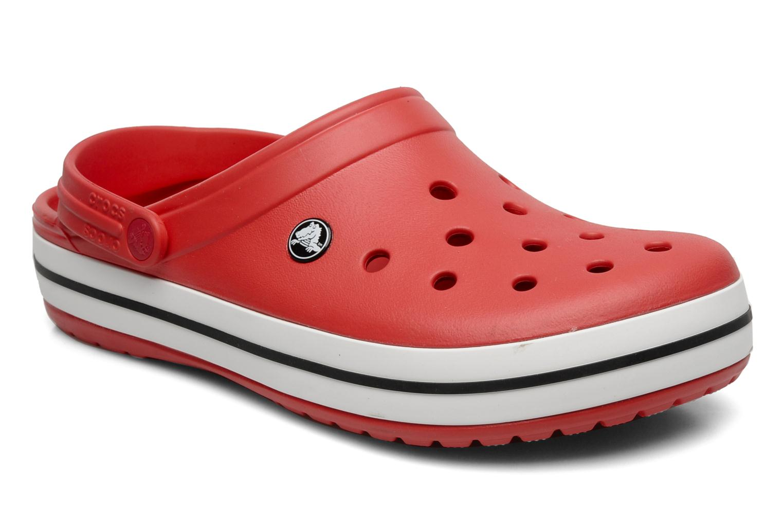 Sandales et nu-pieds Crocs Crocband M Rouge vue détail/paire