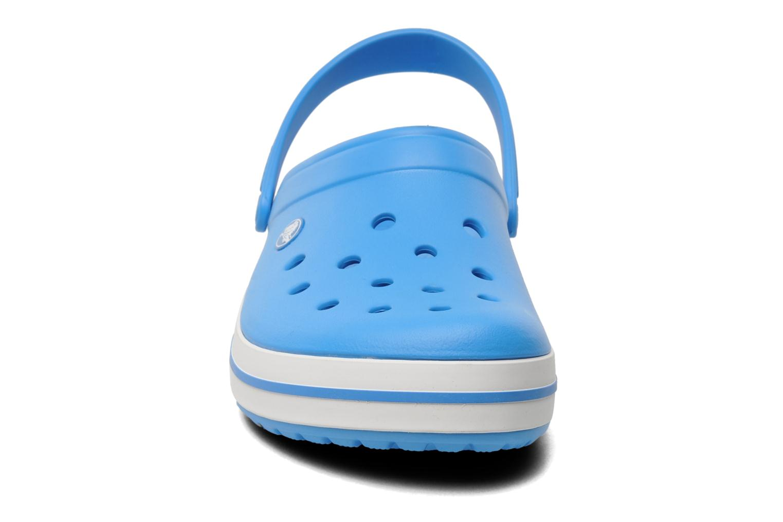 Sandalen Crocs Crocband M blau schuhe getragen