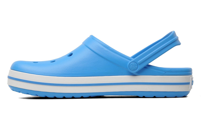 Sandals Crocs Crocband M Blue front view
