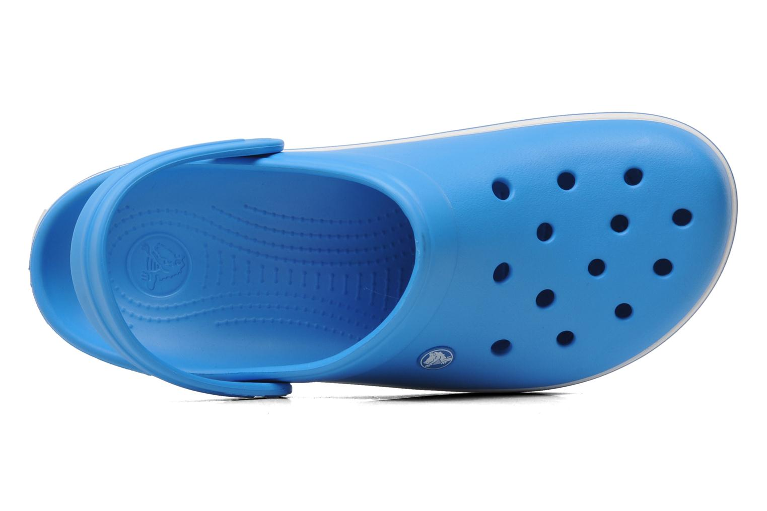Sandals Crocs Crocband M Blue view from the left