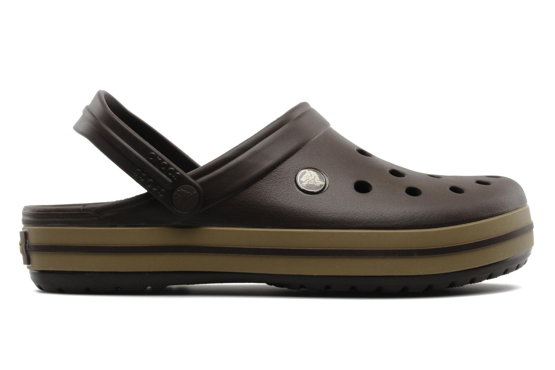 Sandalen Crocs Crocband M Bruin achterkant