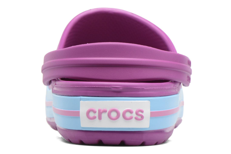 Clogs & Pantoletten Crocs Crocband W lila ansicht von rechts