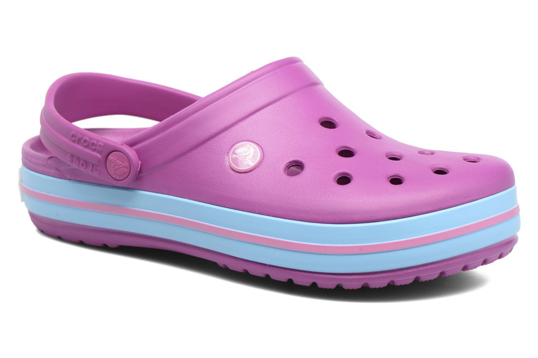 Clogs & Pantoletten Crocs Crocband W lila detaillierte ansicht/modell