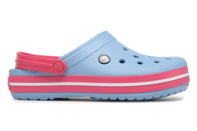 Zuecos Crocs Crocband W Azul vistra trasera