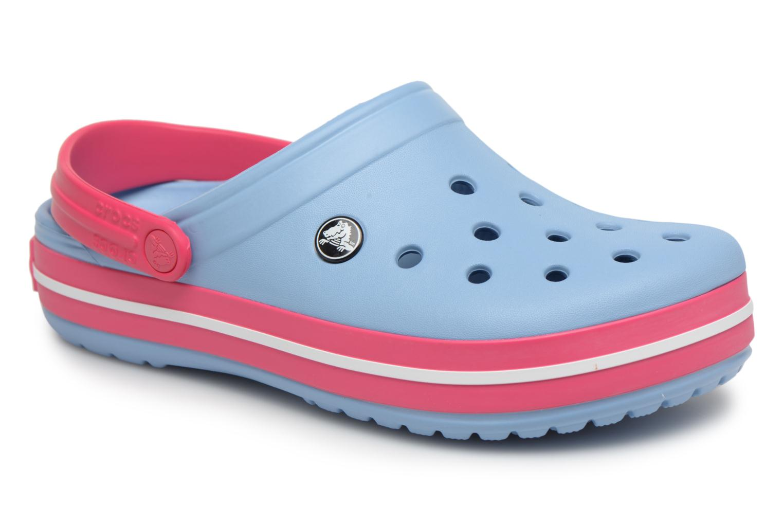 Zuecos Crocs Crocband W Azul vista de detalle / par
