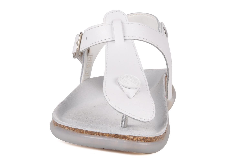Sandales et nu-pieds Primigi Pianosa Blanc vue portées chaussures