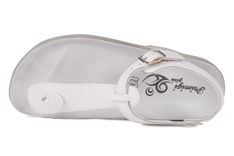 Sandales et nu-pieds Primigi Pianosa Blanc vue gauche