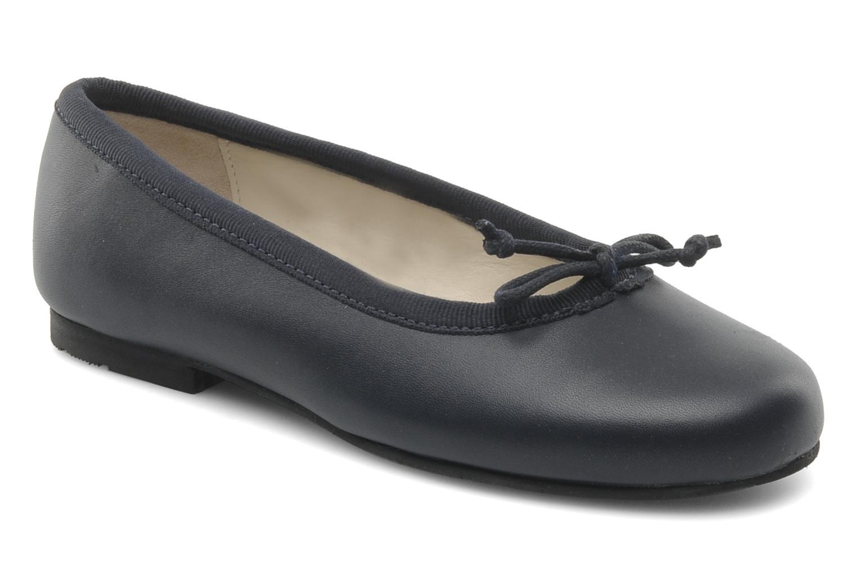 Francesca Navy leather