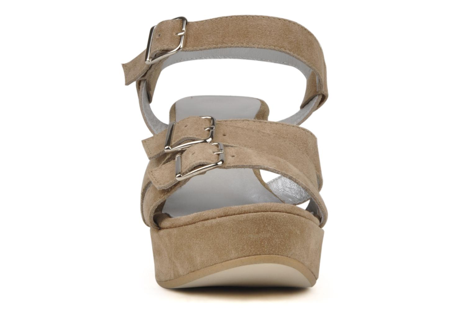 Sandals Planisphere Zoom Beige model view
