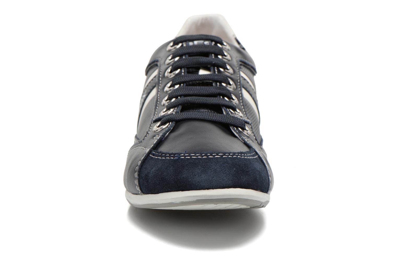 Baskets Geox U ANDREA U01Z2P Bleu vue portées chaussures