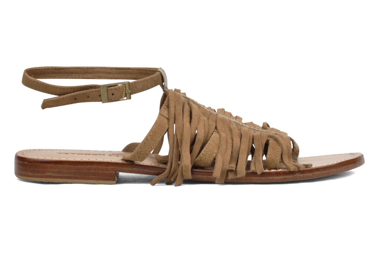 Sandales et nu-pieds Tatoosh Ava Beige vue derrière