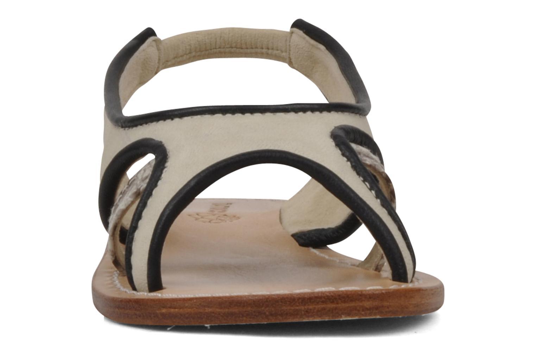 Sandales et nu-pieds Tatoosh Liza Kids Noir vue portées chaussures