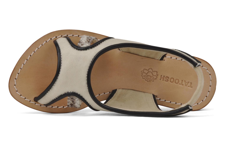 Sandales et nu-pieds Tatoosh Liza Kids Noir vue gauche