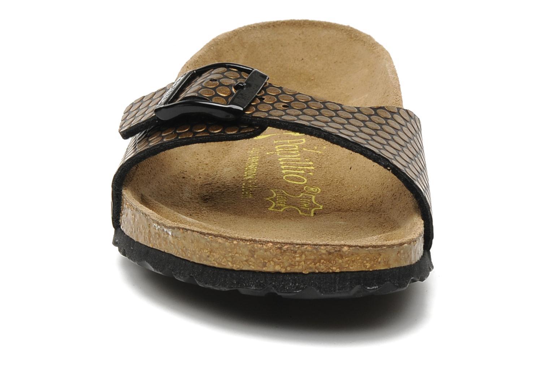 Mules et sabots Papillio Madrid Flor W Or et bronze vue portées chaussures