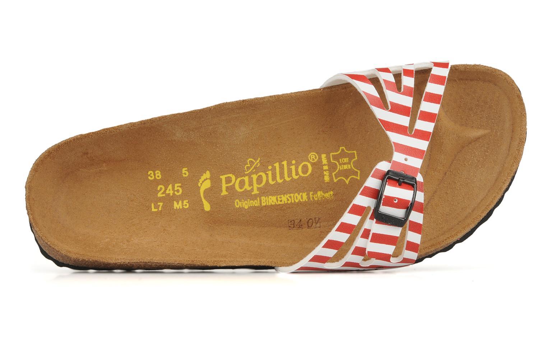 Clogs & Pantoletten Papillio Java Flor W rot ansicht von links