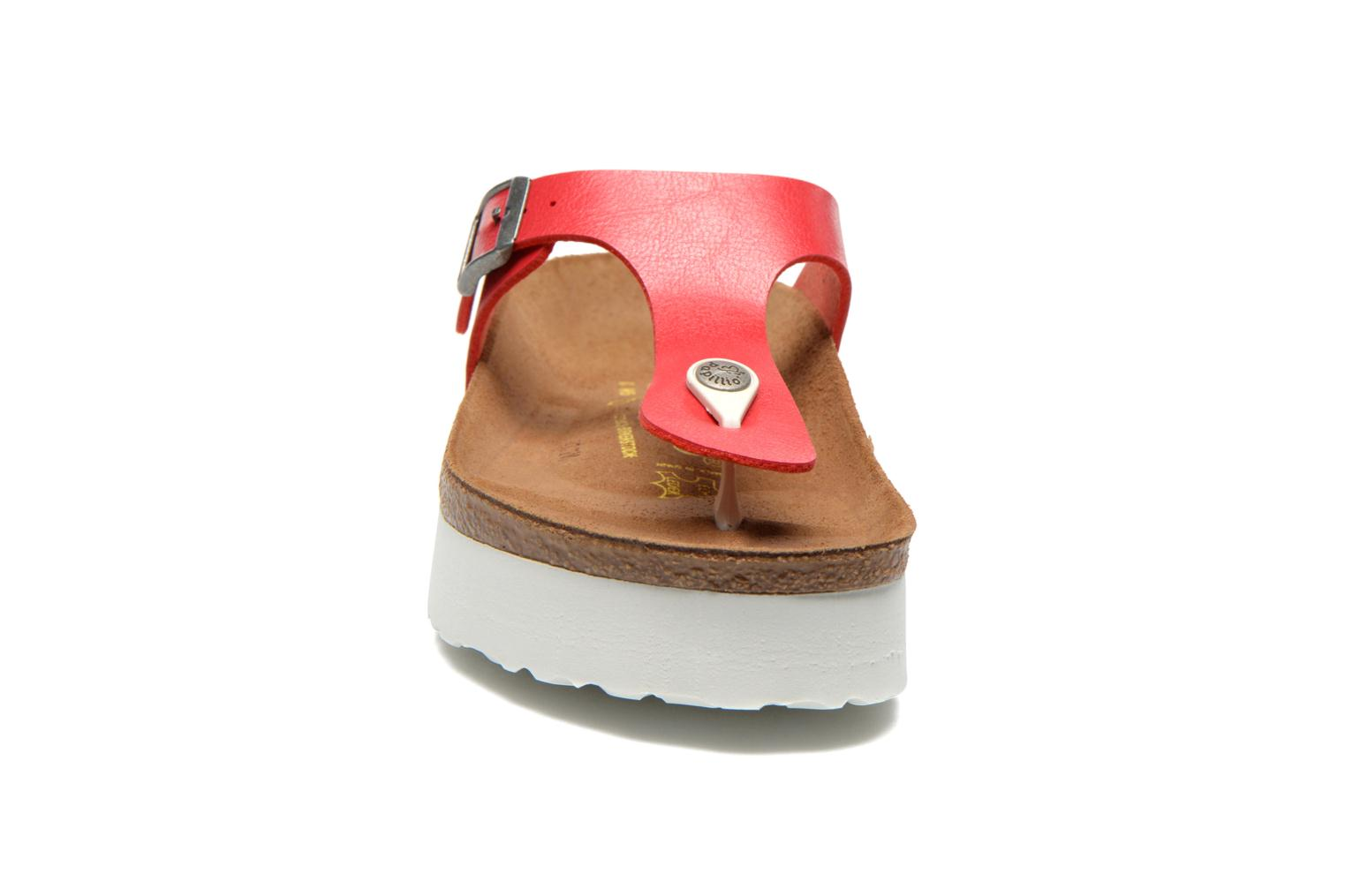 Slippers Papillio Gizeh Flor W Rood model