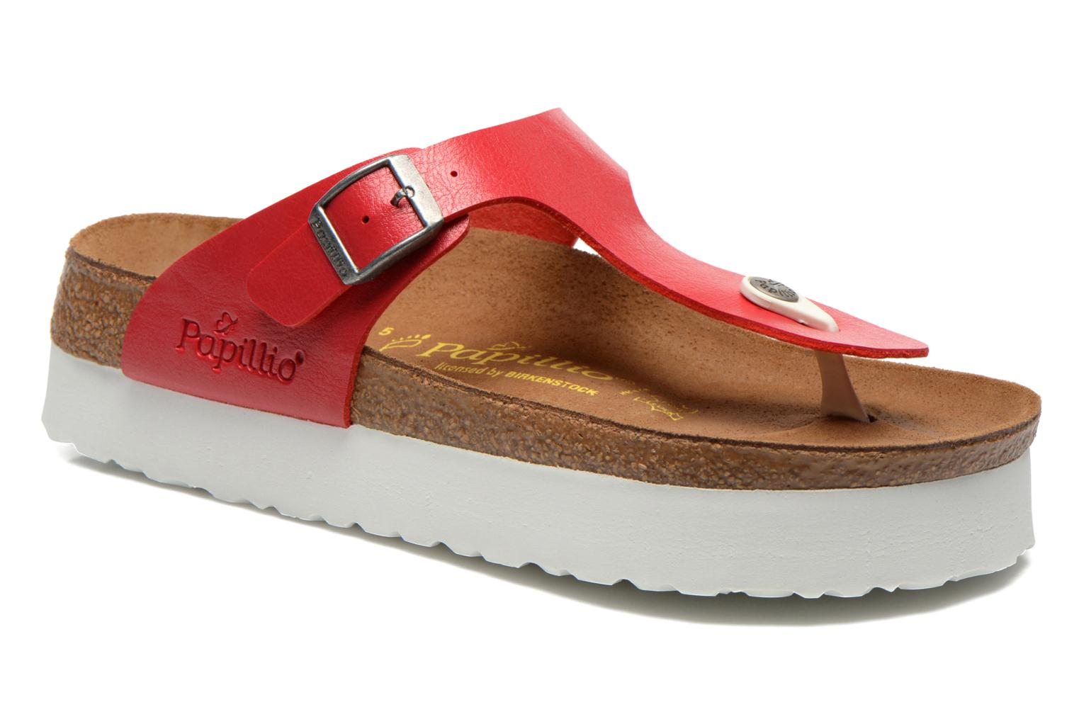 Slippers Papillio Gizeh Flor W Rood detail