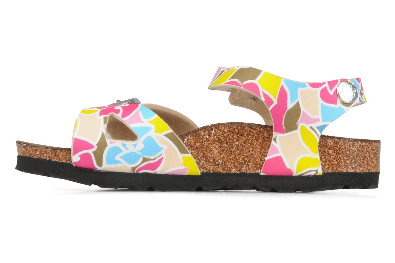 Sandals Birki's Tuvalu E Multicolor front view
