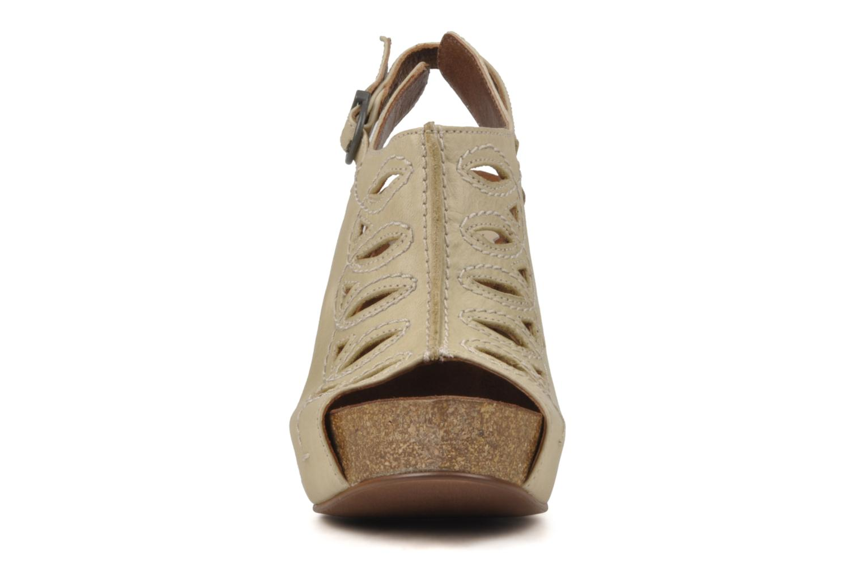 Sandals Jeffrey Campbell Tohill Beige model view