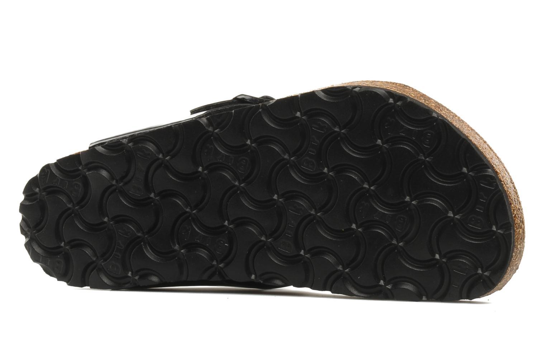 Slippers Birkenstock Gizeh E Zwart boven