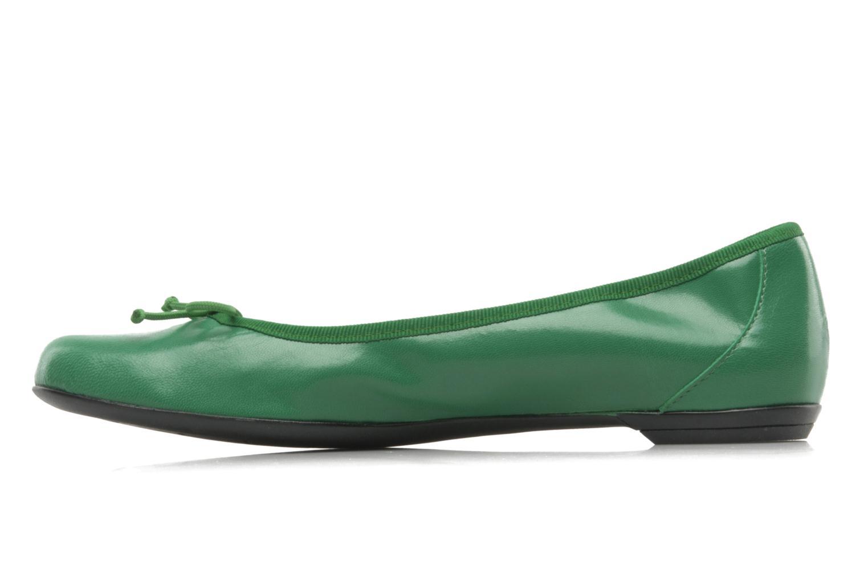 Ballerinas Valensi Vega grün ansicht von vorne
