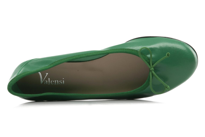 Ballerinas Valensi Vega grün ansicht von oben