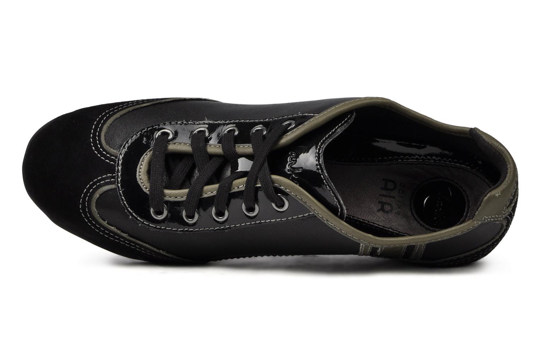Sneakers Clarks Hustle Bustle Zwart links