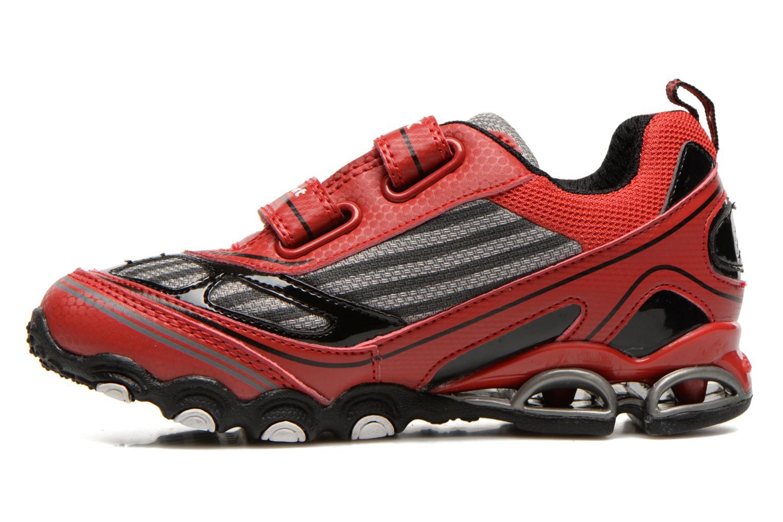 Sneakers Geox J Tornado Rood voorkant